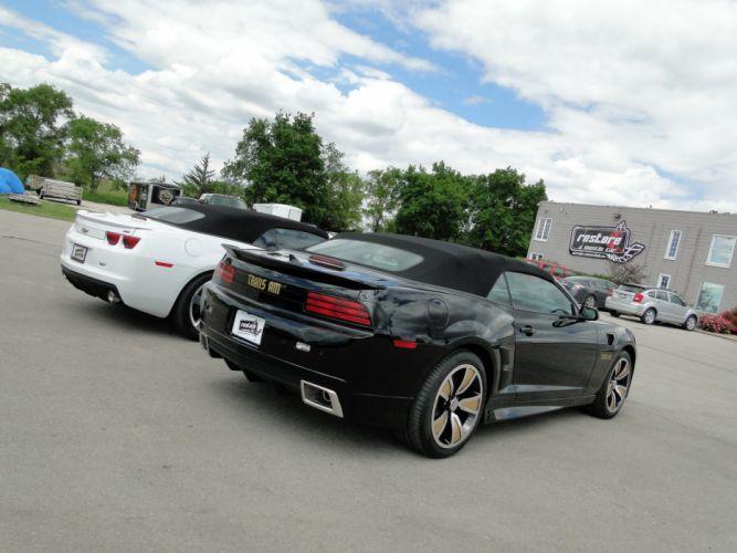 2013 ZTA Conversion chevy camaro convertible cars black wallpaper