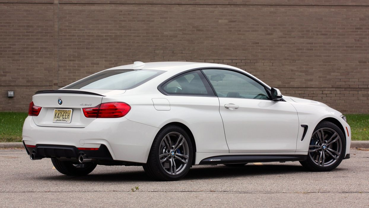 2016 BMW 435i ZHP Edition Coupe cars white wallpaper