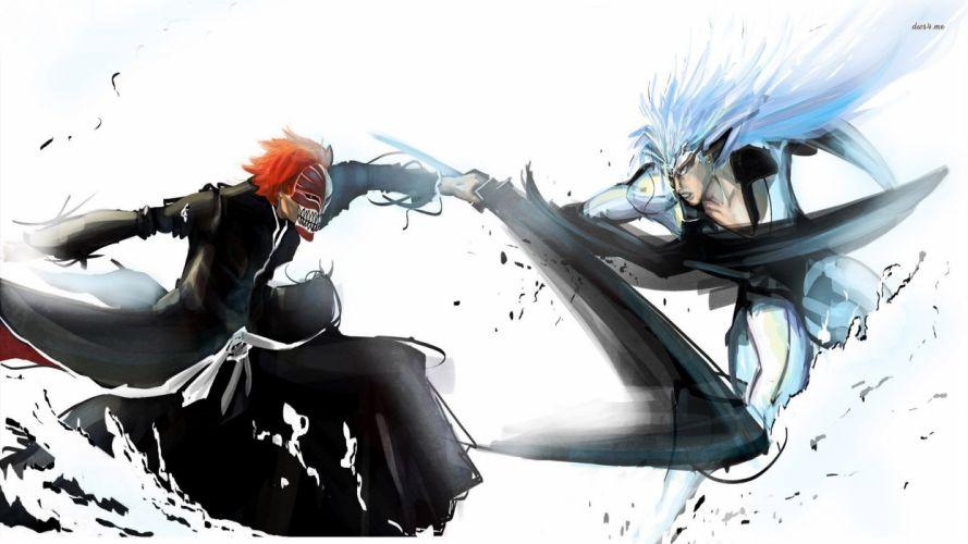 Bleach Ichigo vs Grimmjow wallpaper