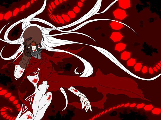 Deadman wonderland Shiro the red man wallpaper