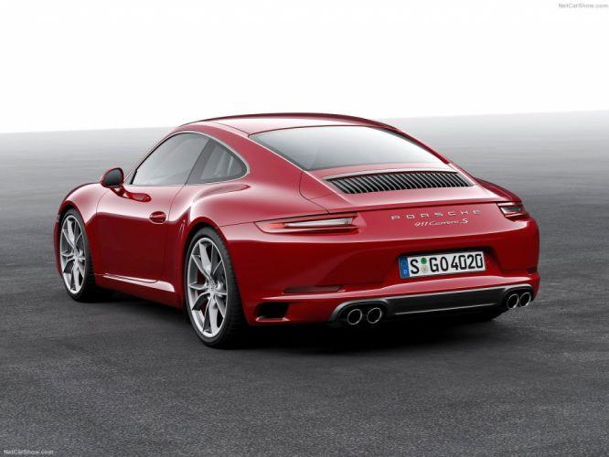 Porsche 911 991 Carrera coupe 2016 cars wallpaper