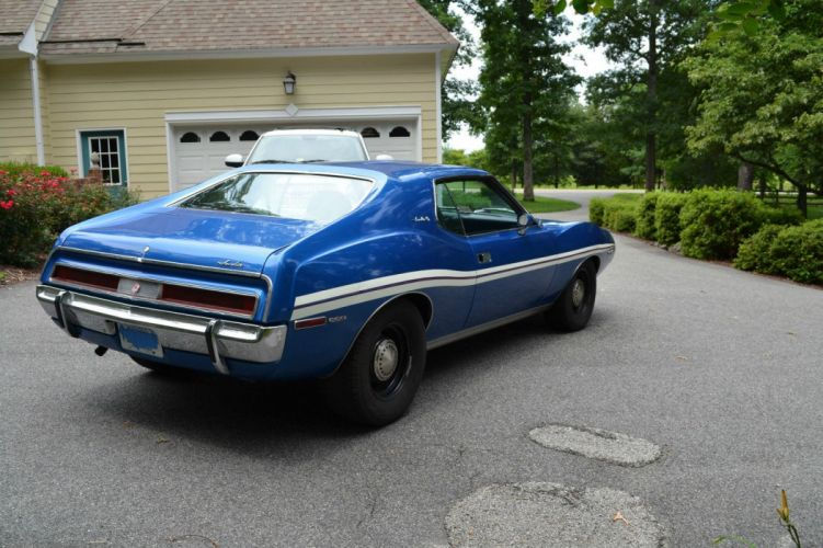 1971 AMC javelin cars coupe blue wallpaper
