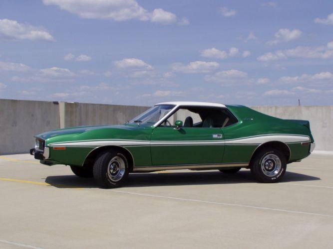 1971 AMC javelin cars coupe green wallpaper