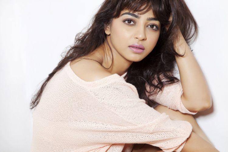 radhika apte actress model girl beautiful brunette pretty cute beauty sexy hot pose face eyes hair lips smile figure indian wallpaper