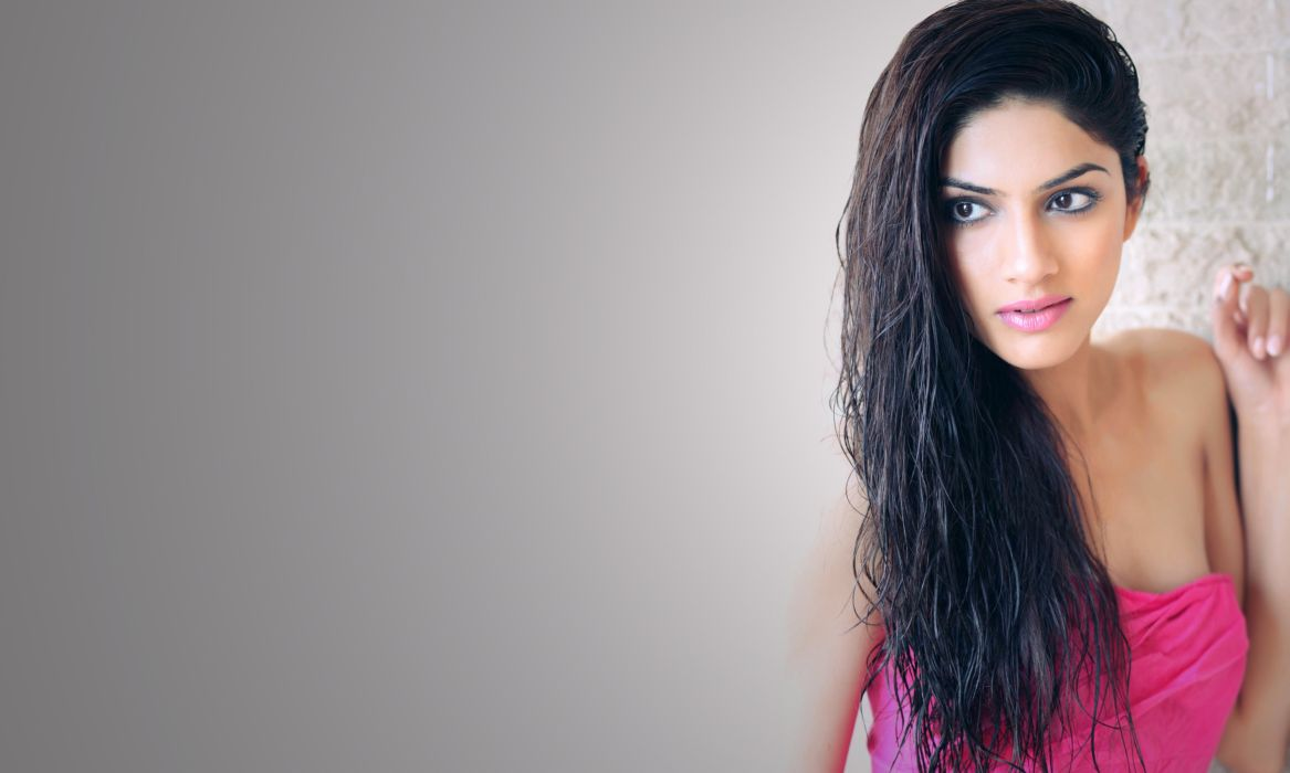 sapna pabbi actress model girl beautiful brunette pretty cute beauty sexy hot pose face eyes hair lips smile figure indian  wallpaper