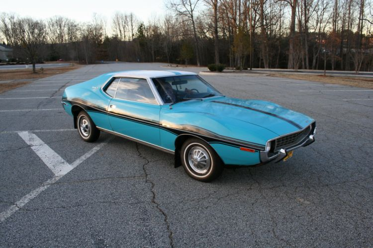 1971 amc Blue cars Coupe javelin wallpaper