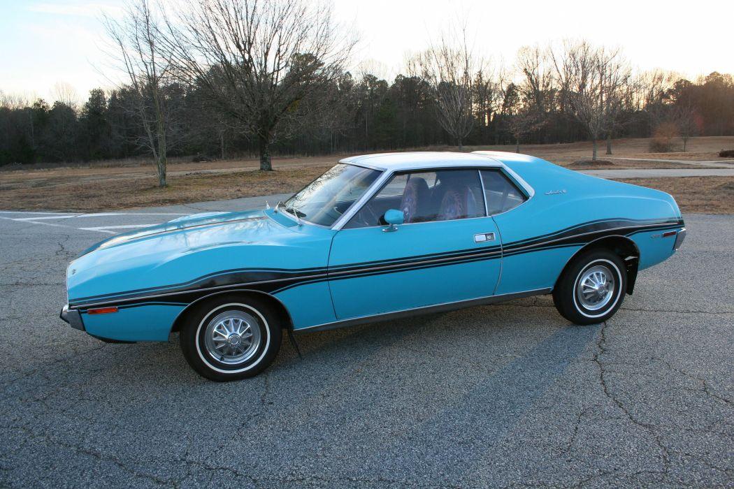 1971 amc Blue cars Coupe javelin wallpaper