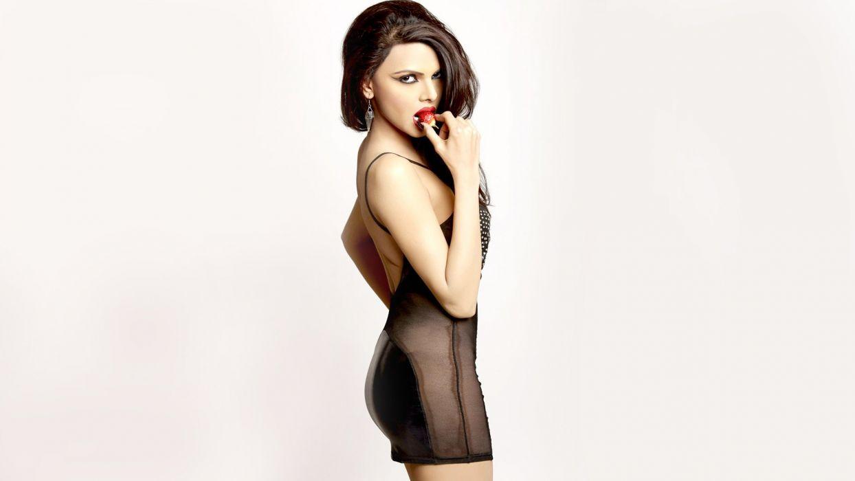 sherlyn chopra actress model girl beautiful brunette pretty cute beauty sexy hot pose face eyes hair lips smile figure indian  wallpaper