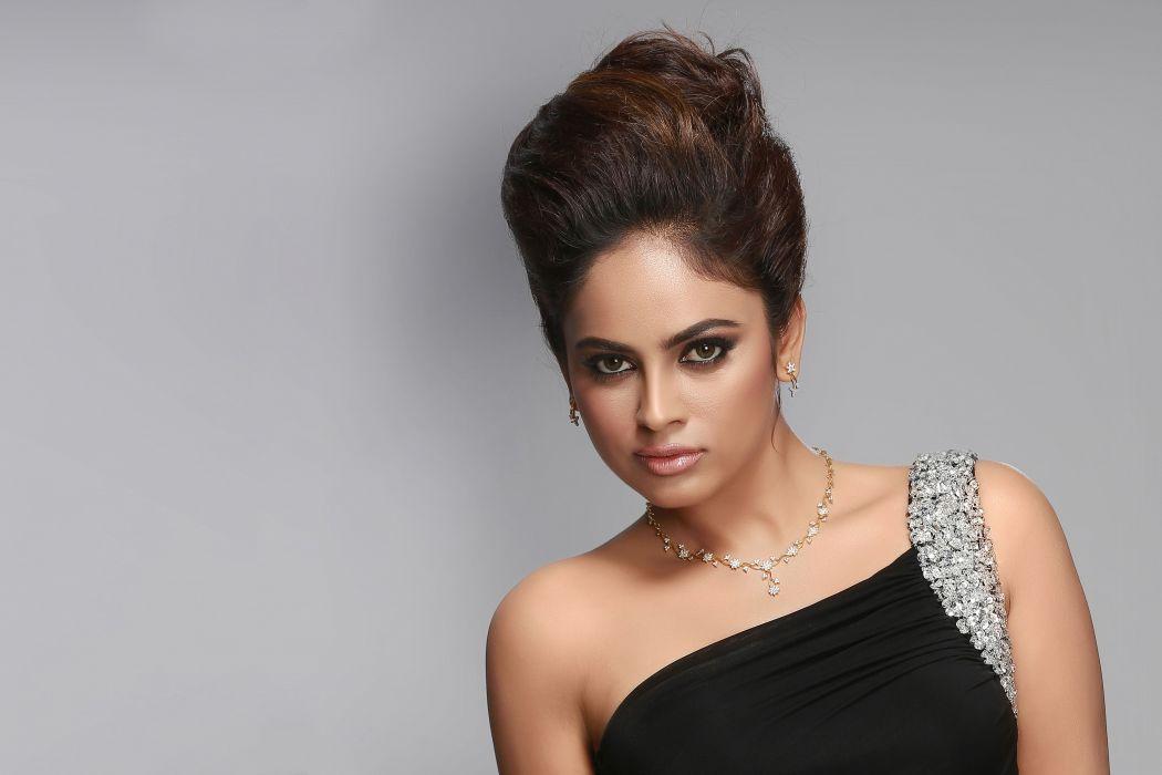 Nandita actress model girl beautiful brunette pretty cute beauty sexy hot pose face eyes hair lips smile figure indian  wallpaper