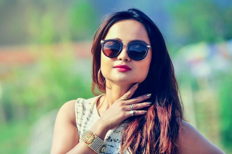 namrata sapkota actress model girl beautiful brunette pretty cute beauty sexy hot pose face eyes hair lips smile wallpaper