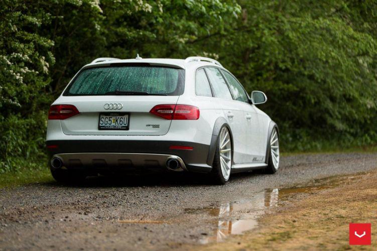 Audi Allroad wagon cars Vossen Wheels wallpaper