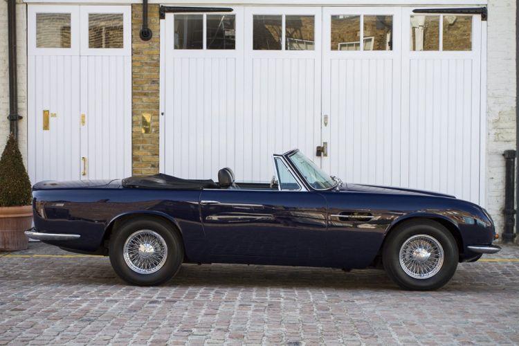 Aston Martin DB6 MK-II volante 1970 cars classic wallpaper