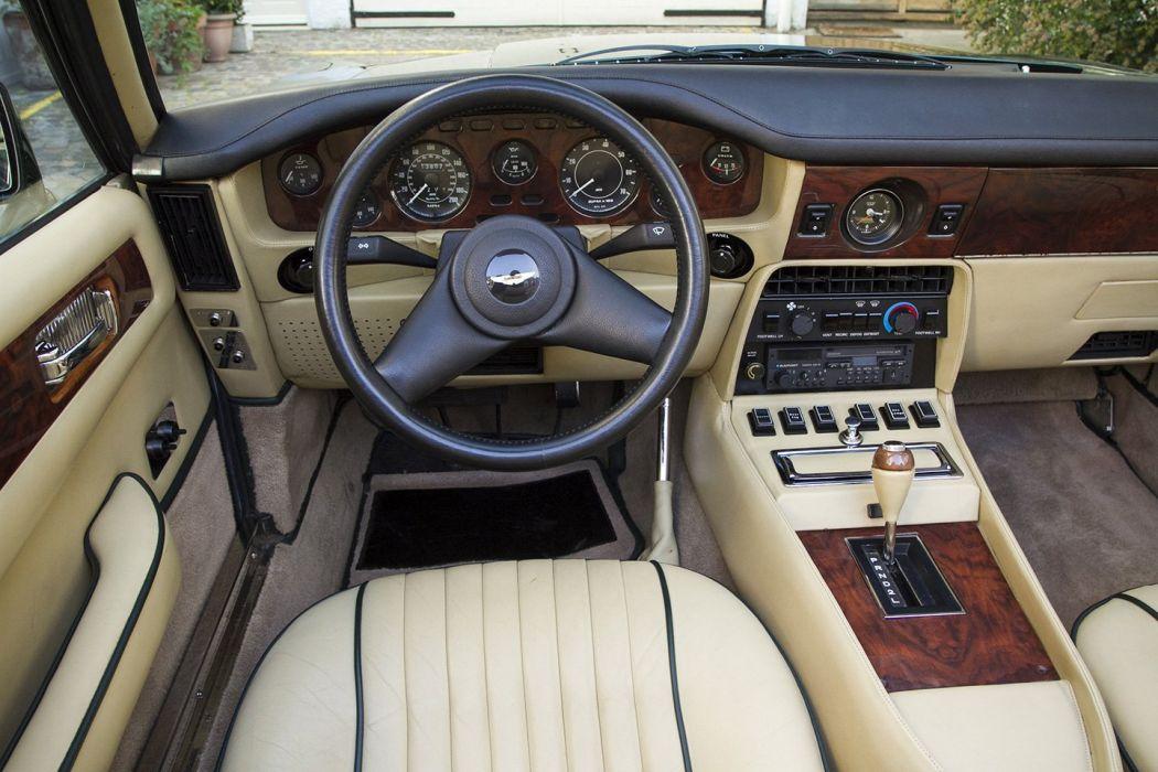 Aston Martin v8-volante 1986 cars classic wallpaper