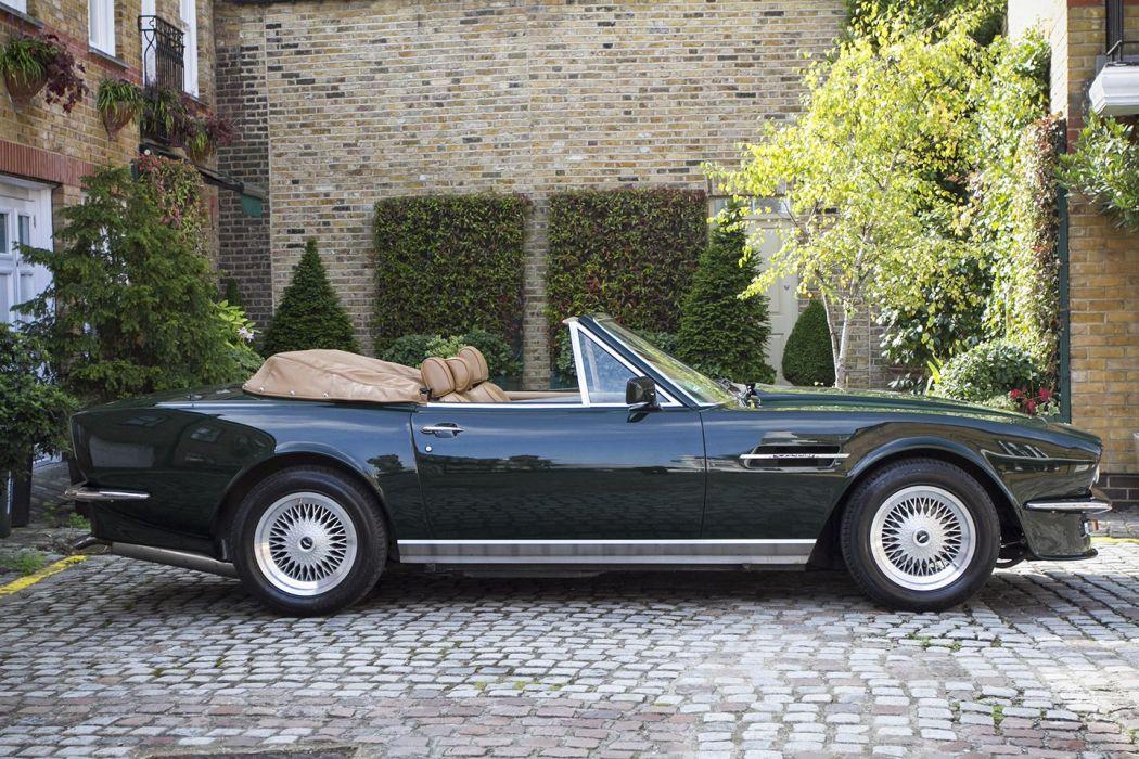 Aston Martin v8-volante 1988 cars classic wallpaper