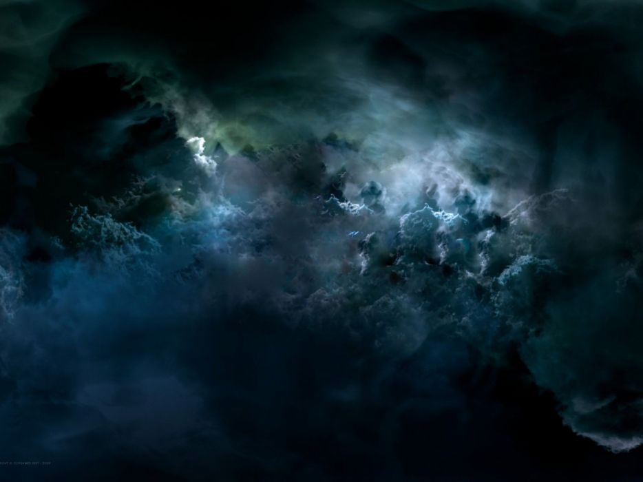 abstracto dark nubes oscuras wallpaper