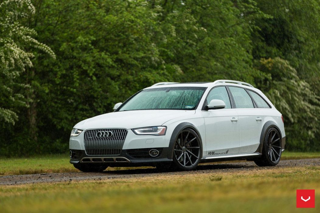 Audi Allroad Vossen Wheels cars wagon wallpaper