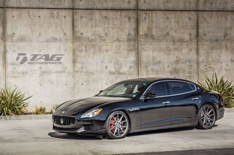 Maserati Quattroporte Vossen Wheels cars wallpaper