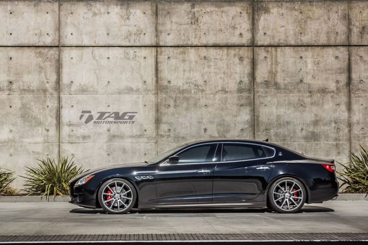 Maserati Quattroporte Vossen Wheels cars wallpaper