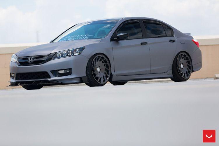 Honda Accord Vossen Wheels cars sedan wallpaper