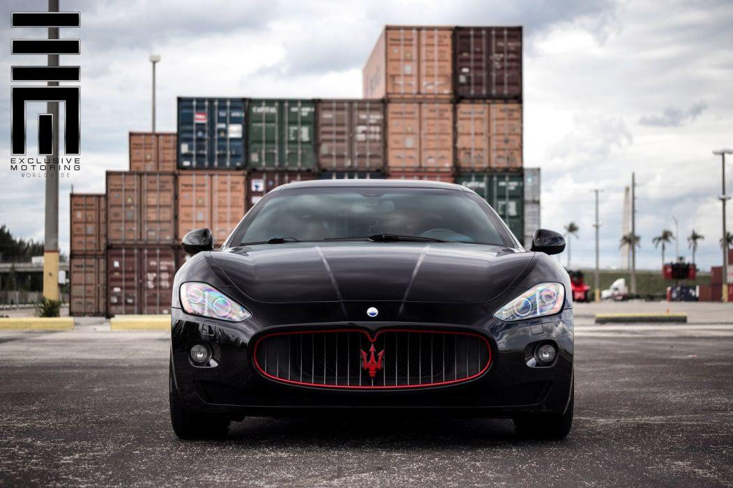 Maserati GranTurismo Vossen Wheels cars coupe wallpaper