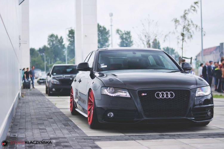 Audi-s4 Vossen Wheels cars sedan wallpaper