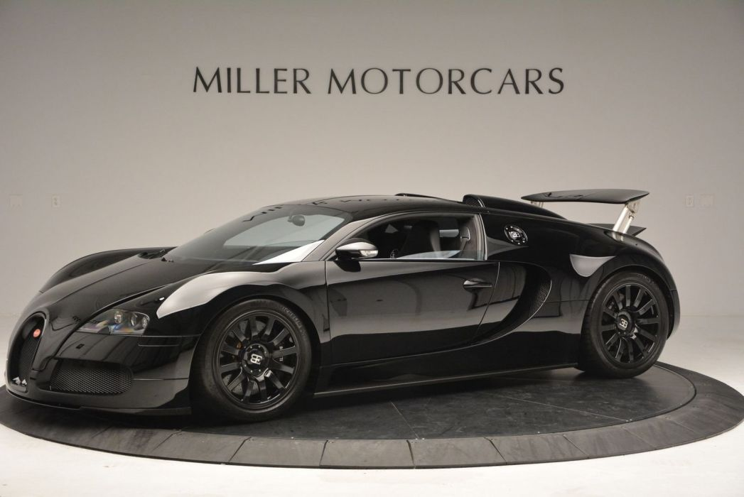 Black Bugatti Veyron cars supercars wallpaper