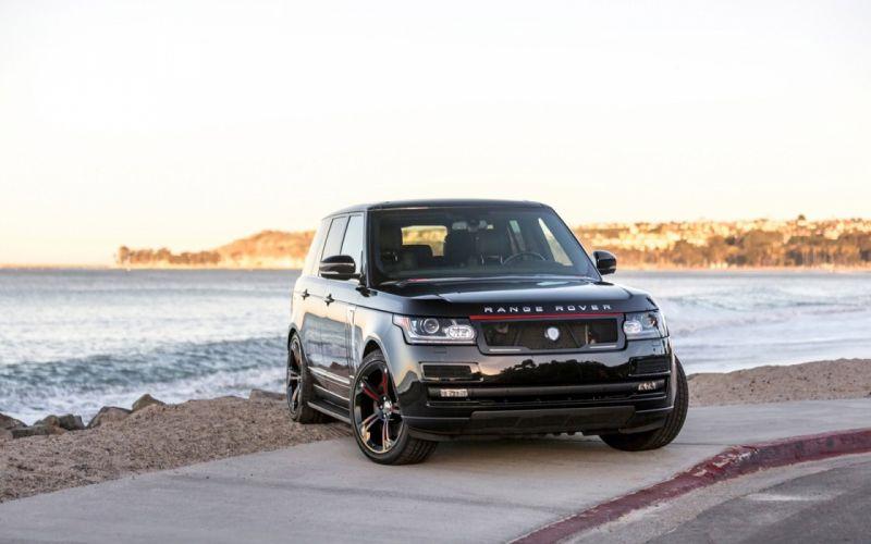 2016 STRUT Range Rover cars suv modified black wallpaper