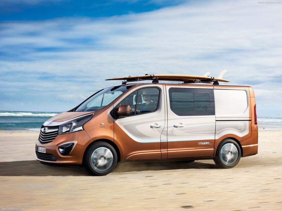 Opel Vivaro Surf cars van Concept 2015 wallpaper