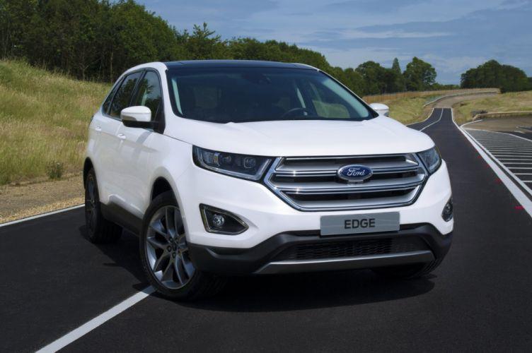 Ford Euro-Spec Edge SUV cars 2016 wallpaper