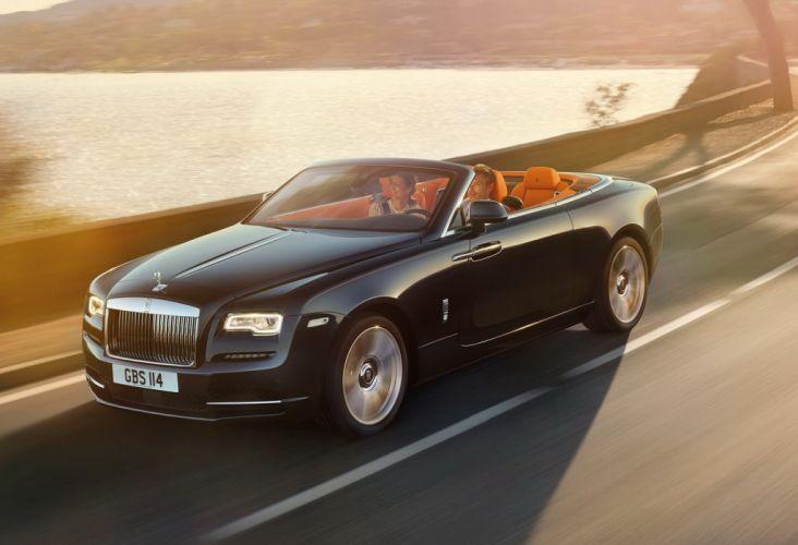 Rolls-Royce ghost convertible Dawn cars 2015 wallpaper