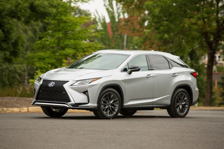 2016 Lexus-RX 450h F-Sport luxury suv cars wallpaper