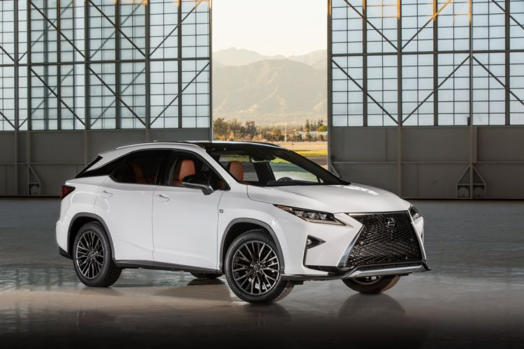 2016 Lexus-RX 350 F-Sport luxury suv cars wallpaper