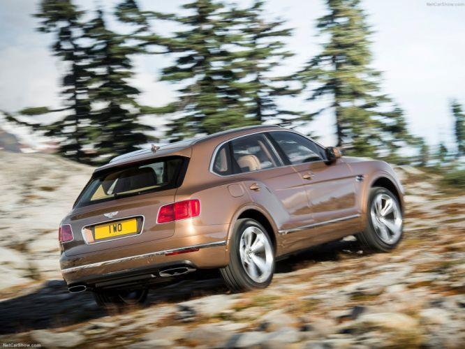 Bentley Bentayga cars suv 2016 wallpaper