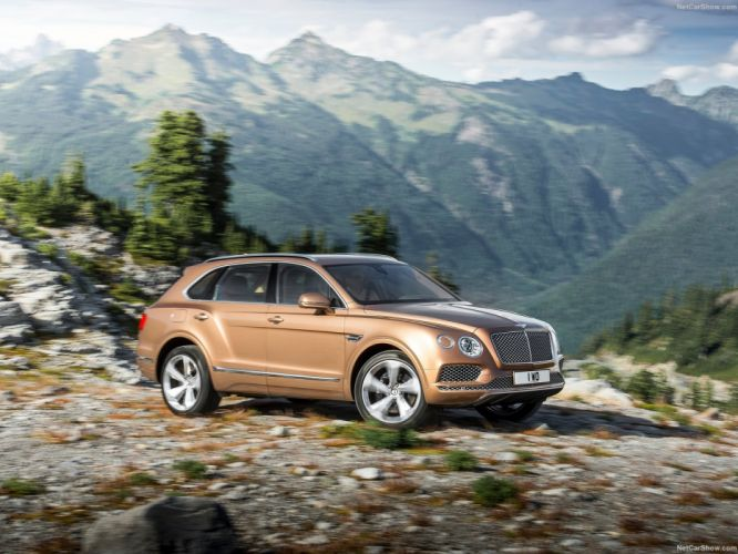 Bentley Bentayga cars suv 2016 wallpaper
