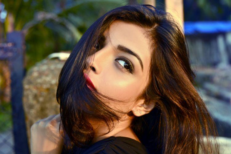 Ashna Zaveri actress model girl beautiful brunette pretty cute beauty sexy hot pose face eyes hair lips smile figure indian wallpaper