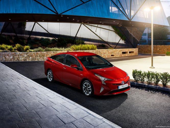 hybrid Toyota Prius cars 2016 wallpaper