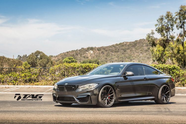 BMW-M4 coupe Vossen Wheels cars wallpaper