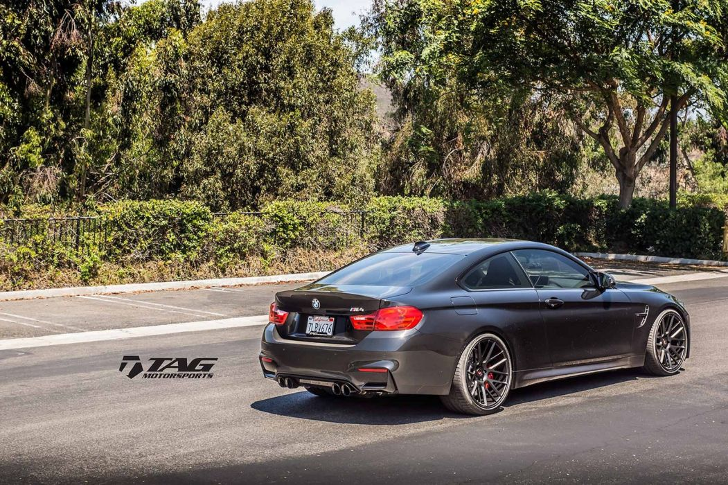 BMW-M4 coupe Vossen Wheels cars wallpaper