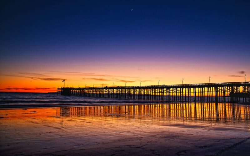 sunset beach sky colors beauty beautiful summer wallpaper