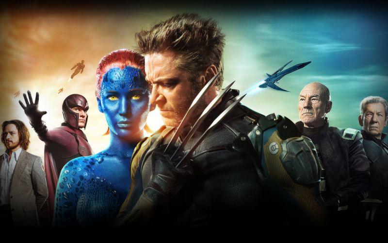 movie x-man fantastic males female characters wallpaper