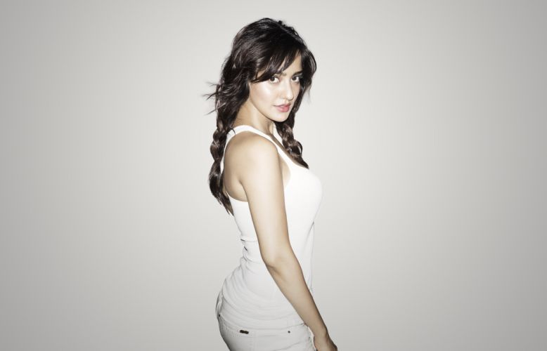 neha sharma bollywood actress model girl beautiful brunette pretty cute beauty sexy hot pose face eyes hair lips smile figure indian wallpaper