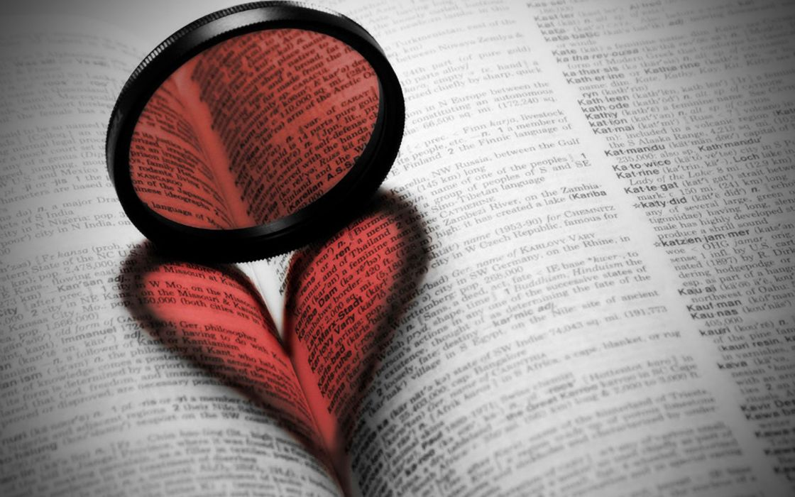 book heart love mood wallpaper