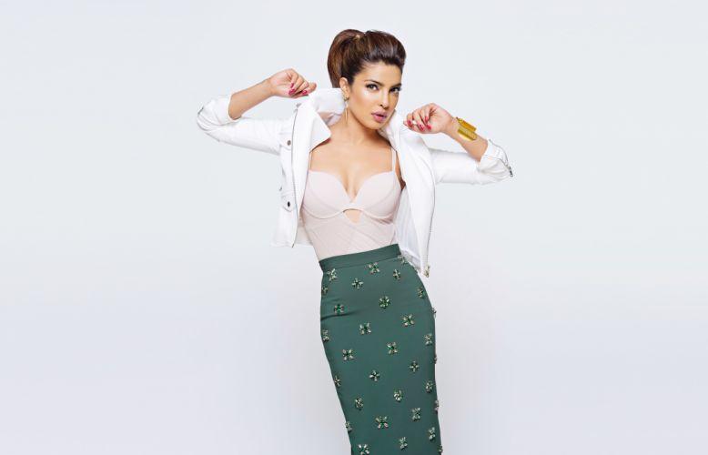 priyanka chopra bollywood actress model girl beautiful brunette pretty cute beauty sexy hot pose face eyes hair lips smile figure indian wallpaper