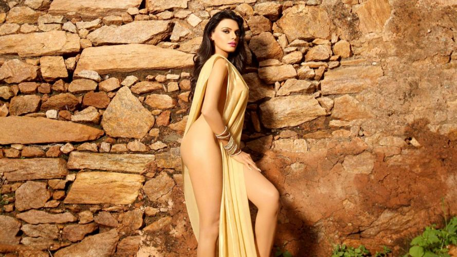 sherlyn chopra bollywood actress model girl beautiful brunette pretty cute beauty sexy hot pose face eyes hair lips smile figure indian wallpaper