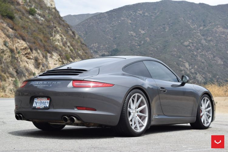 Porsche 911 Carrera-s cars coupe Vossen Wheels wallpaper