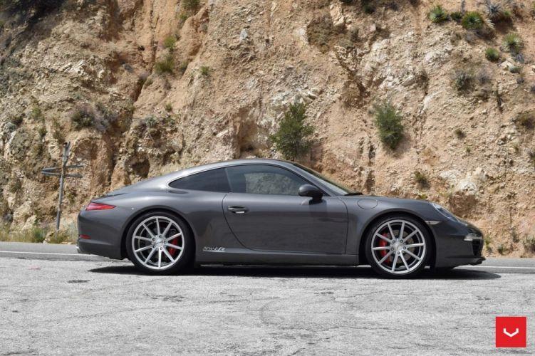 Porsche 911 Carrera-s cars coupe Vossen Wheels wallpaper