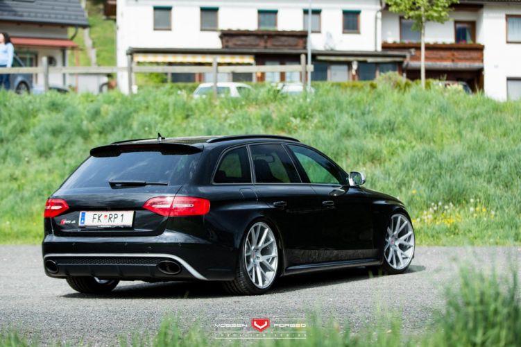 Audi-a8 RS4 Avant wagon cars Vossen Wheels wallpaper