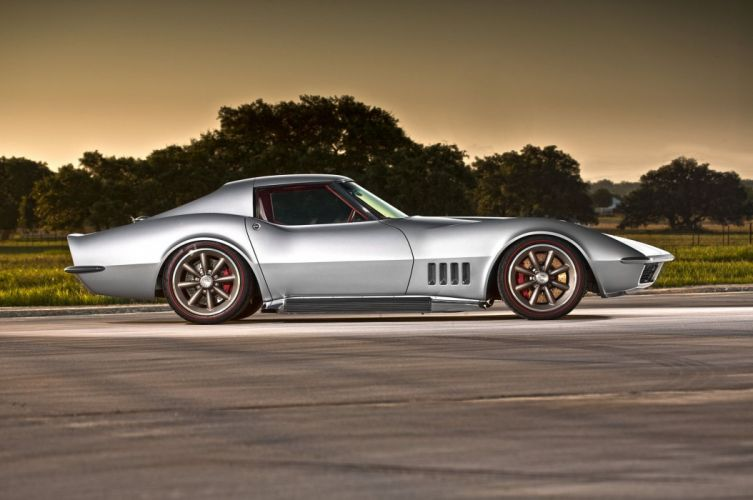Pro Touring 1968 Chevrolet chevy Corvette coupe (c3) wallpaper