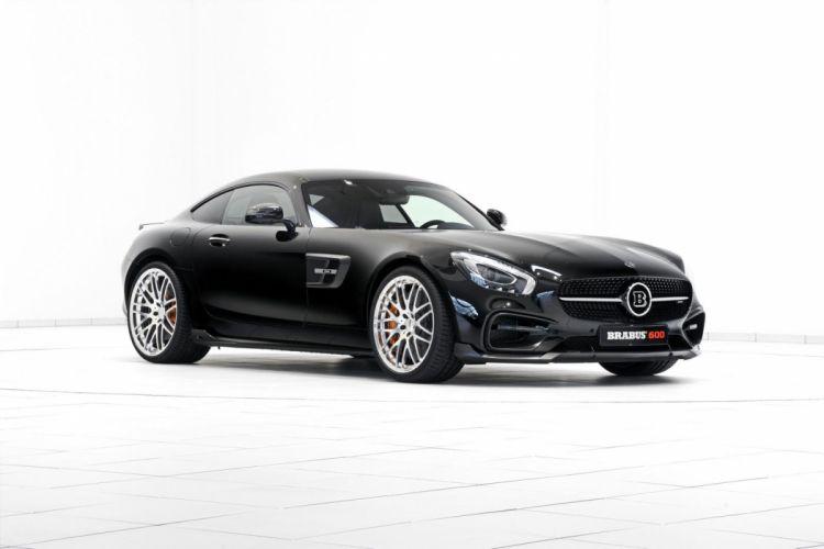 Brabus mercedes AMG GTS brabus cars coupe black modified wallpaper