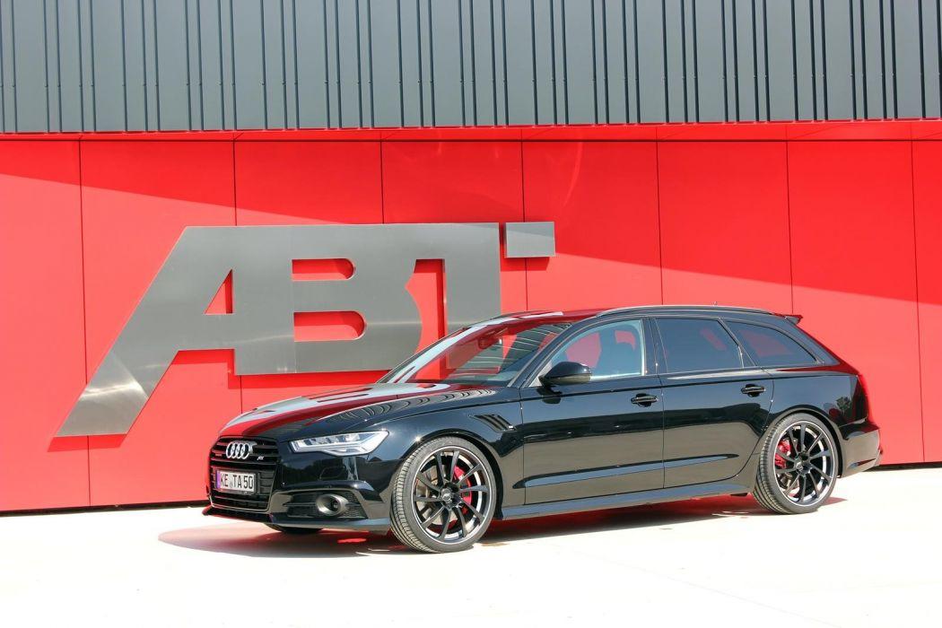 Audi-A6 Avant wagon cars ABT modified wallpaper